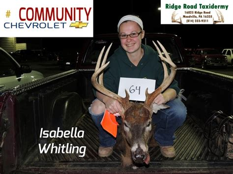 whitling big buck contest 2012 community