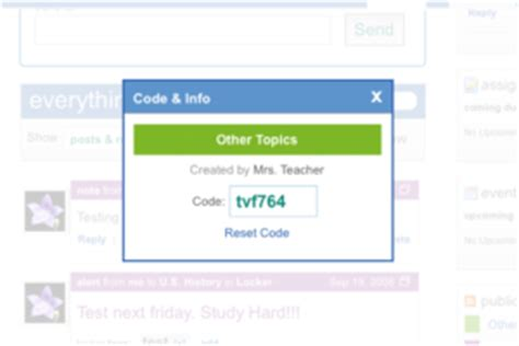 edmodo class code how to change your edmodo group code
