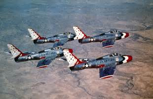 Usaf Search Usaf Thunderbirds Mid 50 S F 84 Thunderstreak Aircraft