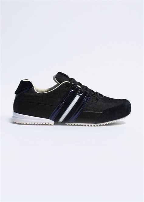Sepatu Premium Adidas Y3 Yohji Yamamoto adidas y3 sprint denim trainers black