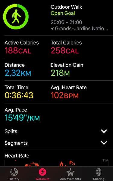 barometric data   iphone     workout