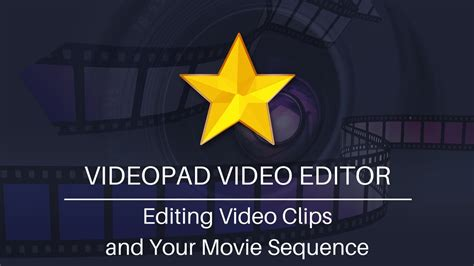 tutorial videopad video editor em portugues editing video clips and movie sequences videopad video