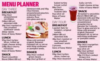 Part two of how to get a flat tummy in four days daily mail online