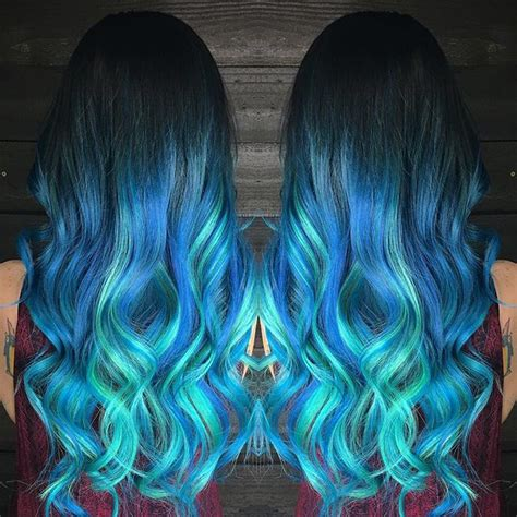 colorful ombre hair 355 best images about mermaid unicorn rainbow hair on