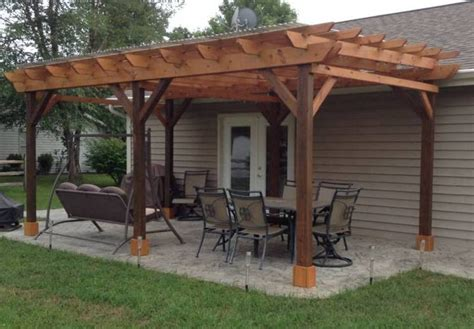 cost of building a pergola covered pergola plans 12x24 outside patio wood design