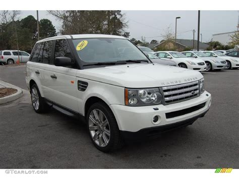 land rover supercharged white 2007 chawton white land rover range rover sport