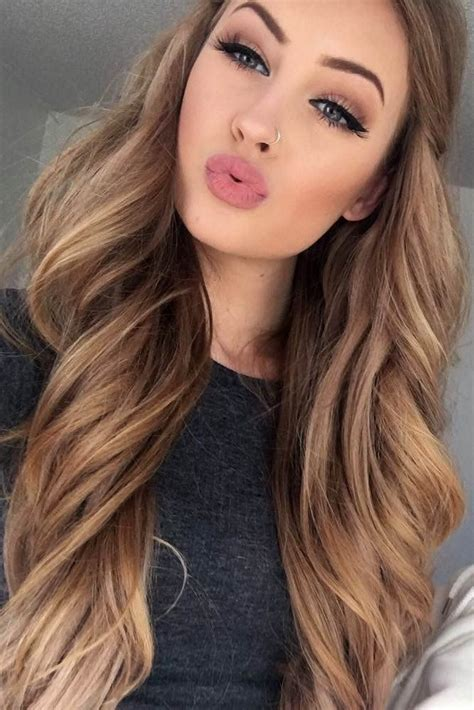 light brown hair color with highlights 33 light brown hair color with high and low lights light