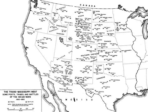 america map before indian war winning the west the army in the indian wars 1865 1890
