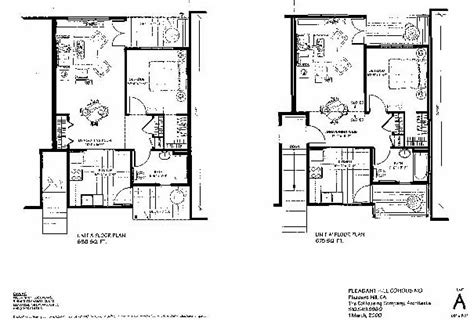 Bedroom Floor Plan pleasant hill cohousing