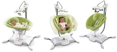 baby swing glider fisher price 11 fisher pricezen collection gliding bassinet