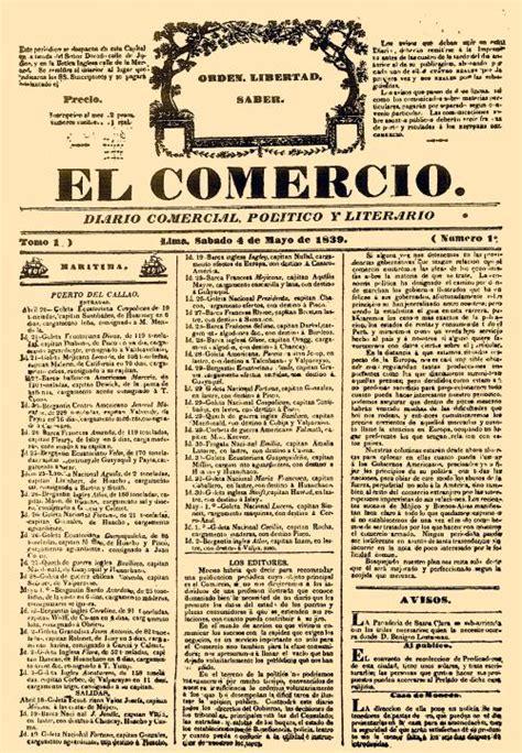 diario el comercio peru file el comercio issue 1 jpg wikimedia commons