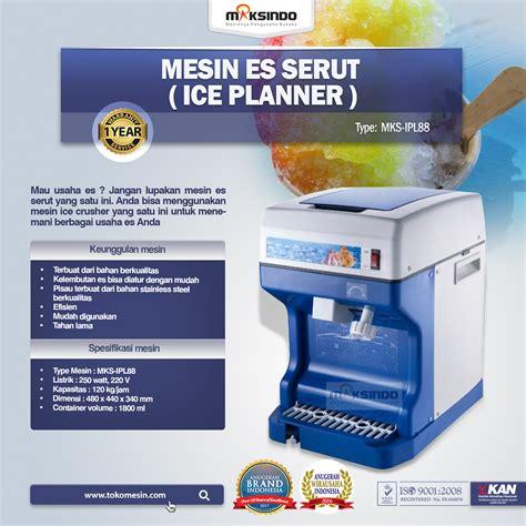 Mesin Es Serut Willman 2 Pisau Stainless Crusher Blade mesin es serut planner ipl88 toko mesin maksindo toko mesin maksindo