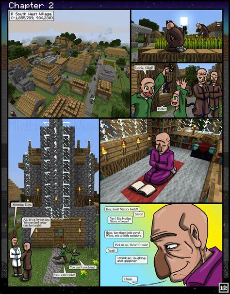 Minecraft The Awakening Ch2 12 By Tomboy Comics On Deviantart