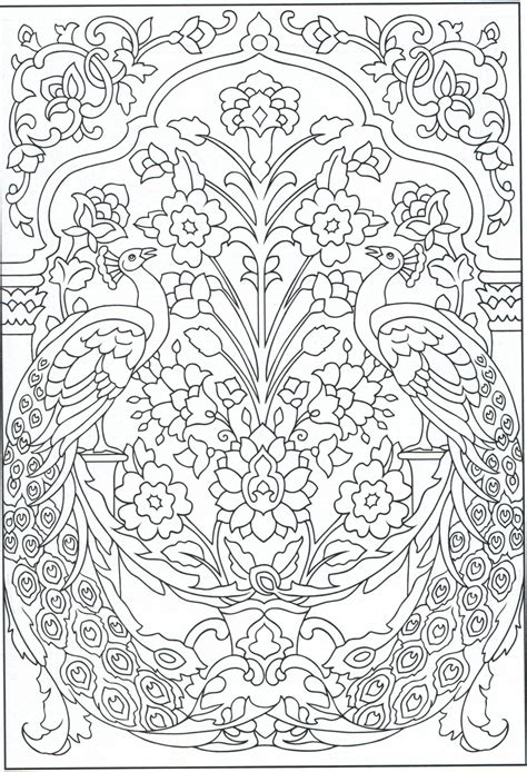 peacock coloring page adults peacock coloring page for adults 1 31 color pages