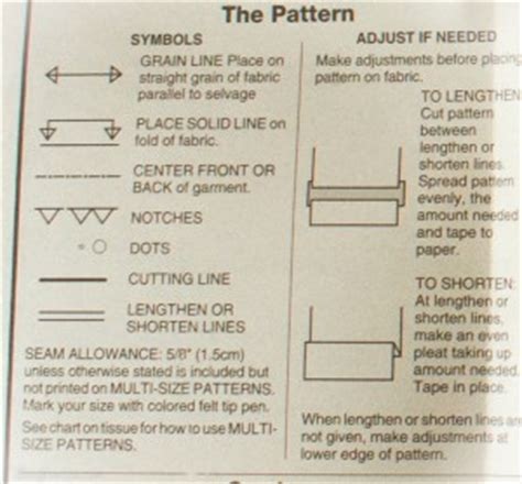 pattern term definition taking the leap understanding sewing patterns part 2
