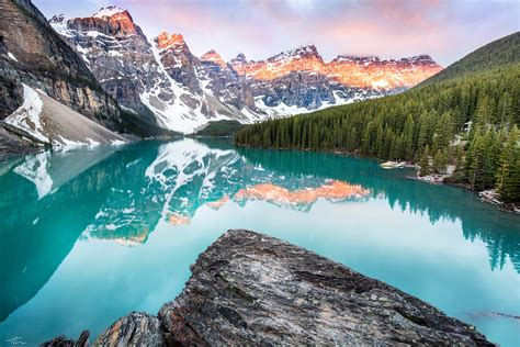 wallpaper 4k canada wallpaper moraine lake banff canada mountains forest