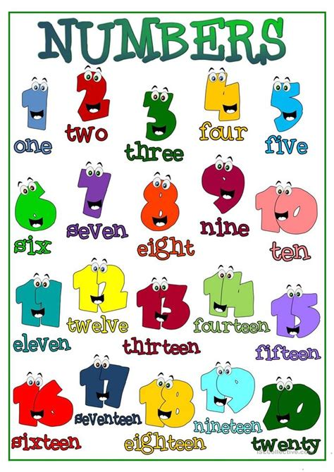 printable english numbers number names worksheets 187 ordinal numbers 1 20 free