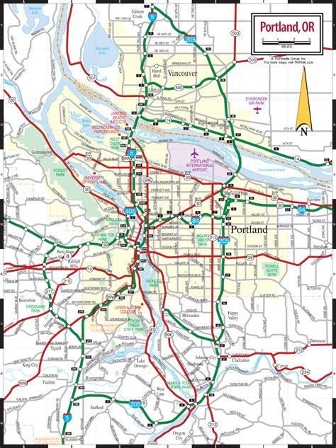 map of oregon pdf portland or map