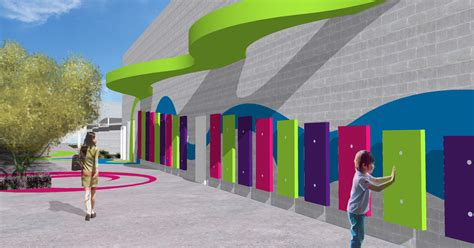 design contest launched for czech primary school design school competition yields vibrant new design for
