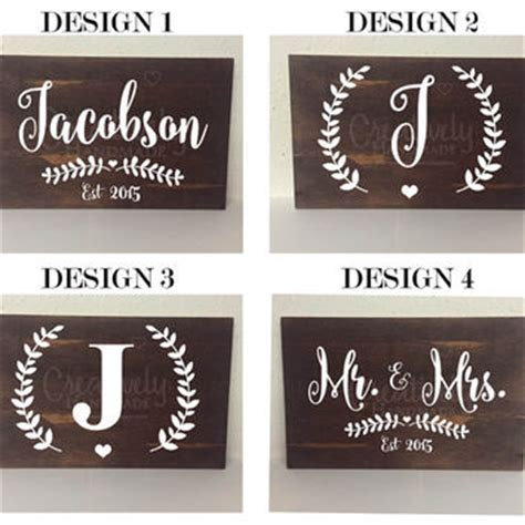 wedding gift name sign best established home signs products on wanelo