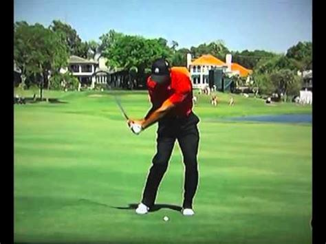 tiger woods slow motion swing 2012 tiger woods 2012 fo 300fps slow motion 3 iron