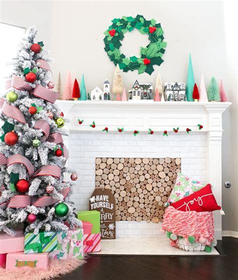 ghirlande natalizie per camino 1001 idee per decorazioni natalizie fai da te per la