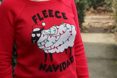 Fleece Navidad 2 the fringe styling a jumper panoply
