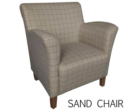 Tartan Occasional Chair Leven Scottish Plaid Upholstered Occasional Chair Just