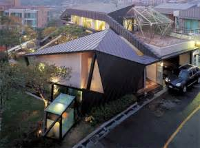 korean home design sles angular masterpieces 10 home designs defined by angles urbanist