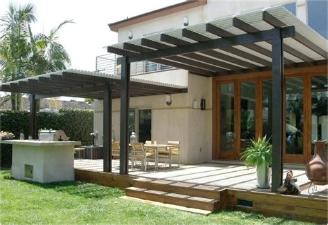 Free Standing Patio Cover Ideas Get Minimalist Impression