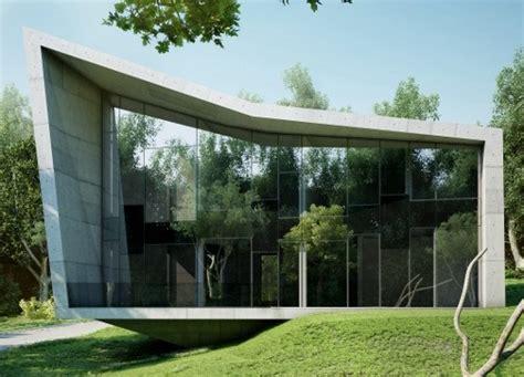 Architetture In Vetro by The Edge House Architettura Minimalista In Cemento E Vetro