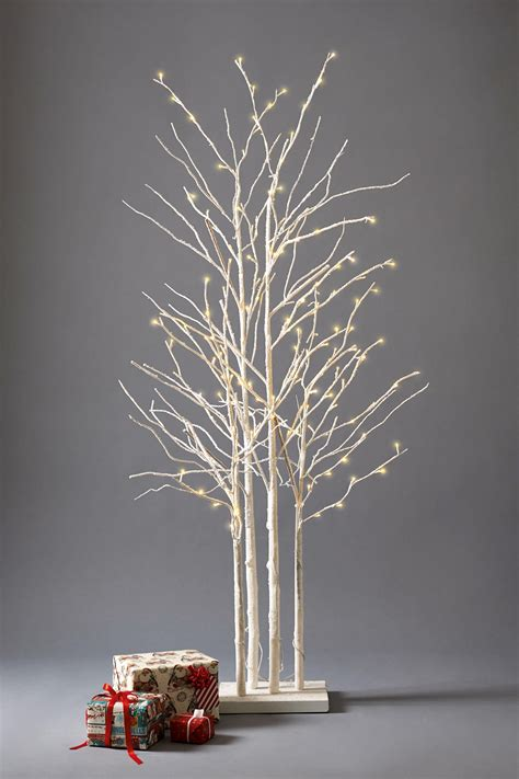 twig trees 3 stunning birch cluster christmas trees