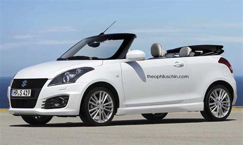Topless Maruti Suzuki Swift Imagined   Gaadiwaadi.com   Latest Car News, Bikes News, Reviews