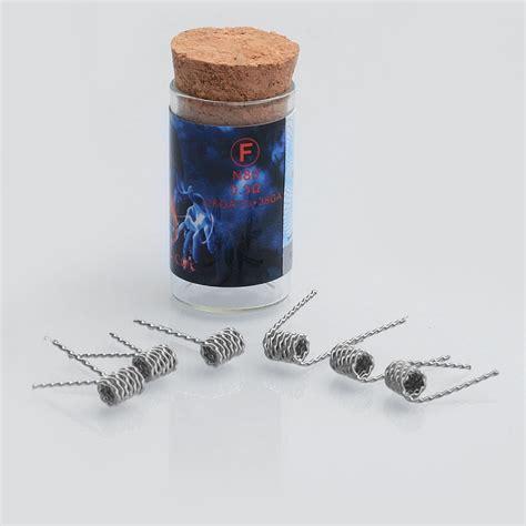Dijamin Authentic Prebuilt Coil Killer 0 36 Ohm authentic killer coil f 0 3 ohm ni80 heating wire