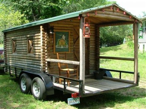 Log Cabin Travel Trailer by Tiny Houses Tiny House Pins