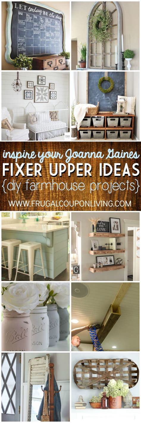 frugal home decorating ideas inspire your joanna gaines diy fixer upper ideas