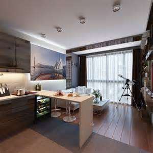 create apartment layout 3 distinctly themed apartments under 800 square feet with