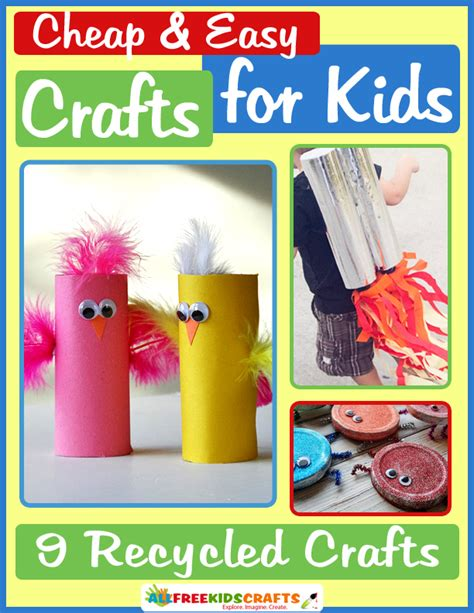 easy recycled crafts for 15 best photos of cheap easy crafts for easy