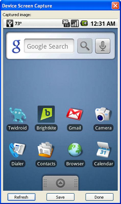 how to screen on android how to take screenshots of your android based phone from windows