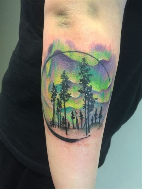 aurora tattoo best 25 northern lights ideas on sky
