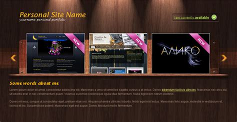 portfolio layout css woody portfolio free portfolio template chocotemplates