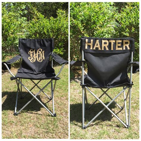 Monogrammed Chairs by Monogrammed C Chair Chair Personalized Folding