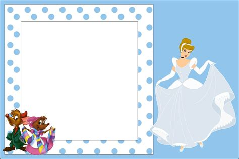 Cinderella Baby Shower Invitations by Free Printable Cinderella Baby Shower Invitation Idea