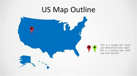 us map by state powerpoint united states powerpoint map slidemodel