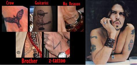 quantas tattoos johnny depp tem johnny depp tem tatuagem de 237 ndio americano no bra 231 o