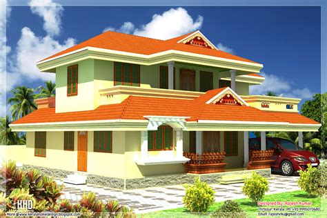 house plan kerala style free 2400 sq feet kerala style house architecture kerala home design and floor plans