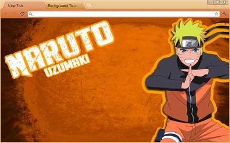 theme chrome naruto naruto google chrome theme naruto uzumaki by