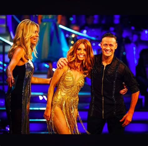strictly come dancings kevin clifton corrects stacey