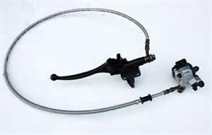 Brake System For Mini Bike Hydraulic Front Disc Brake Caliper Pads System Mini