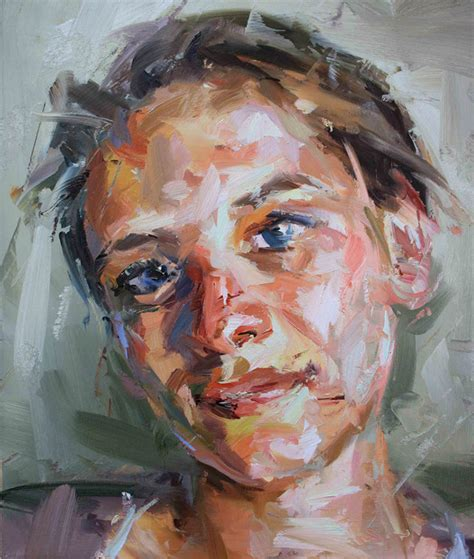 acrylic painting portrait how to your impasto painting portraiture